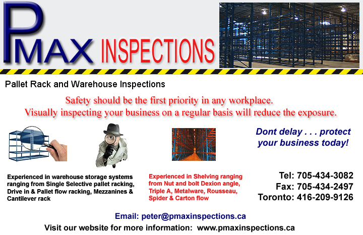 Pmax Racking Inspections